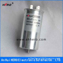CBB65 motor film capacitor for air conditioner